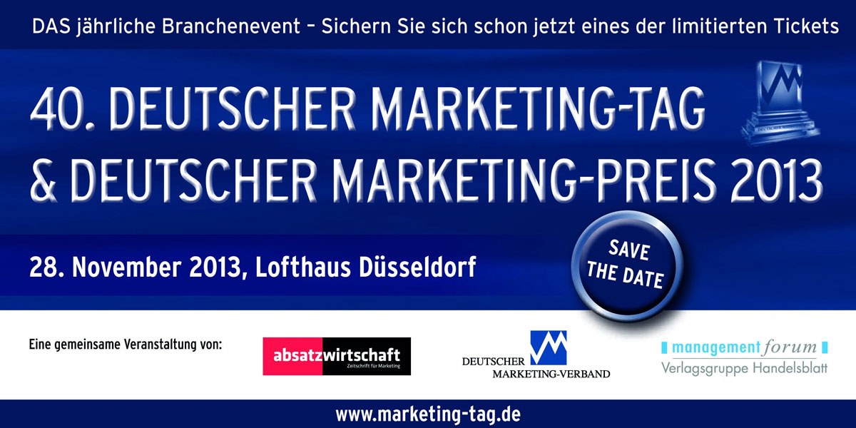 Marketing Tag 2013